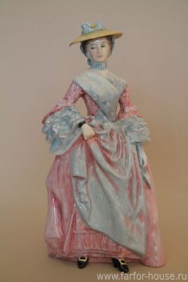 Фарфоровая статуэтка «Mary, Countess Howe», Royal Doulton