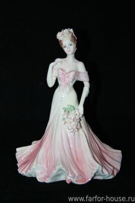 Фарфоровая статуэтка «Fairest Lily» из серии «The Flower Ladies Collection», Coalport