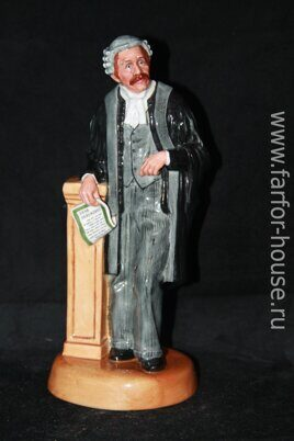 "Фарфоровая статуэтка адвокат ""The LAWYER"", Royal Doulton"
