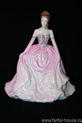 Фарфоровая статуэтка «Lady Sophia At The Ball», Coalport